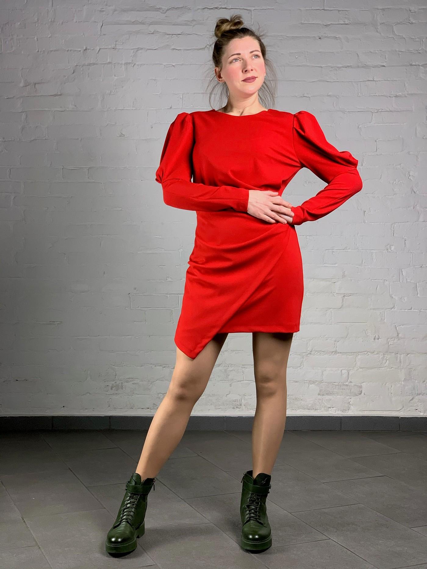 Червона сукня міні Imperial