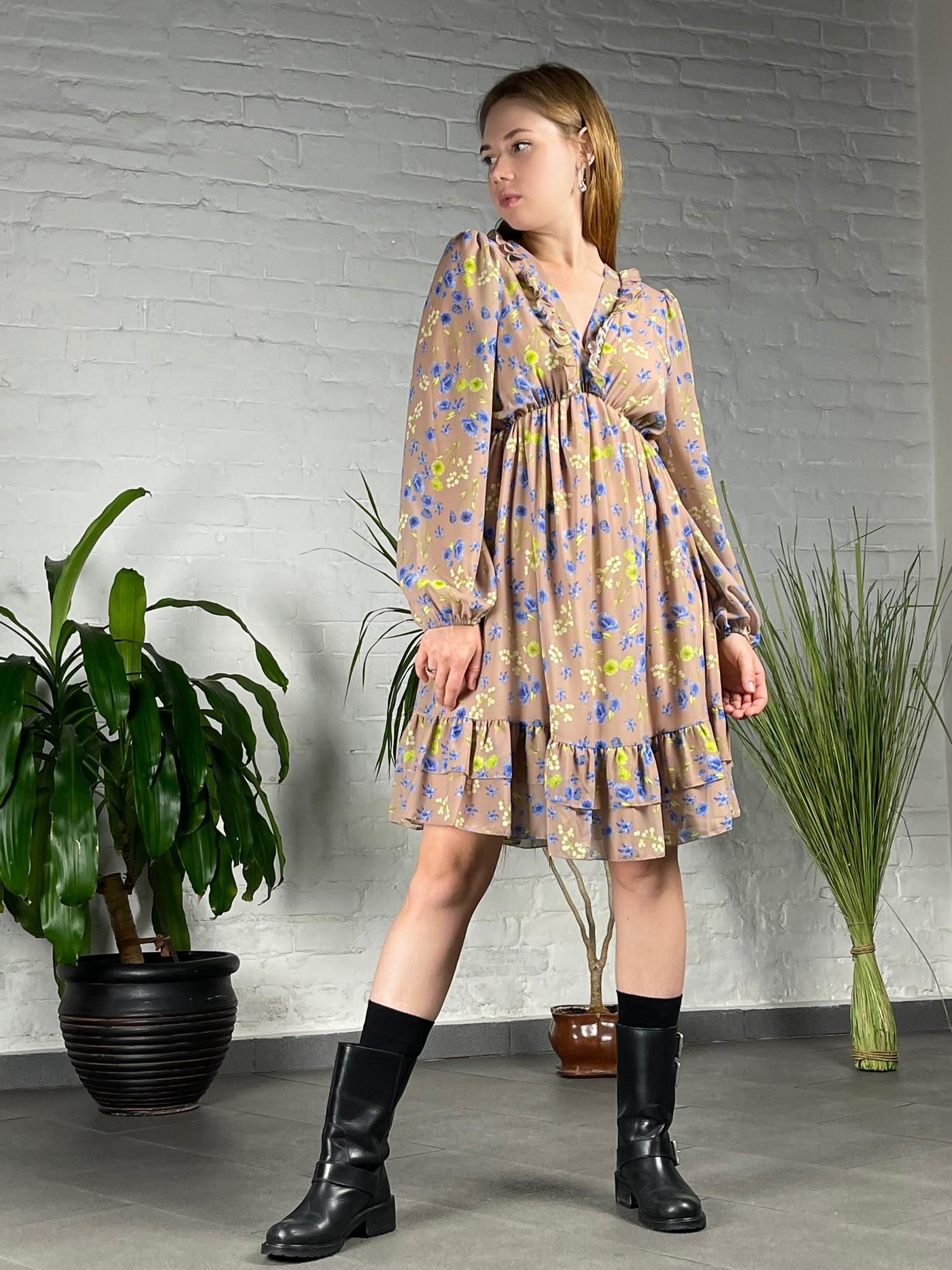Нежное платье с цветочным принтом Joleen.