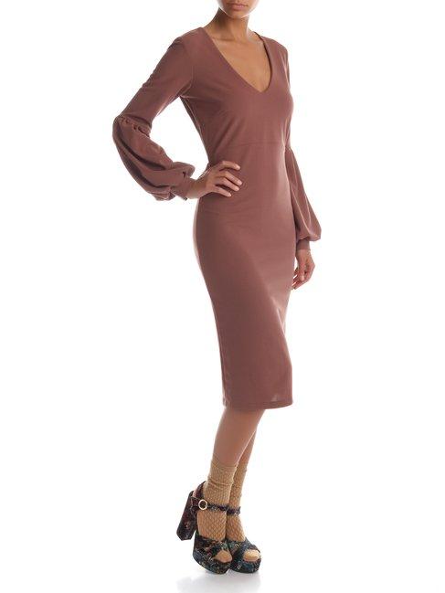 Рожева сукня з епіскопскими рукавами RINASCIMENTO