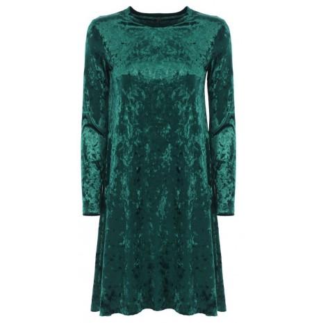 Зеленое велюровое платье итальянского бренда Imperial