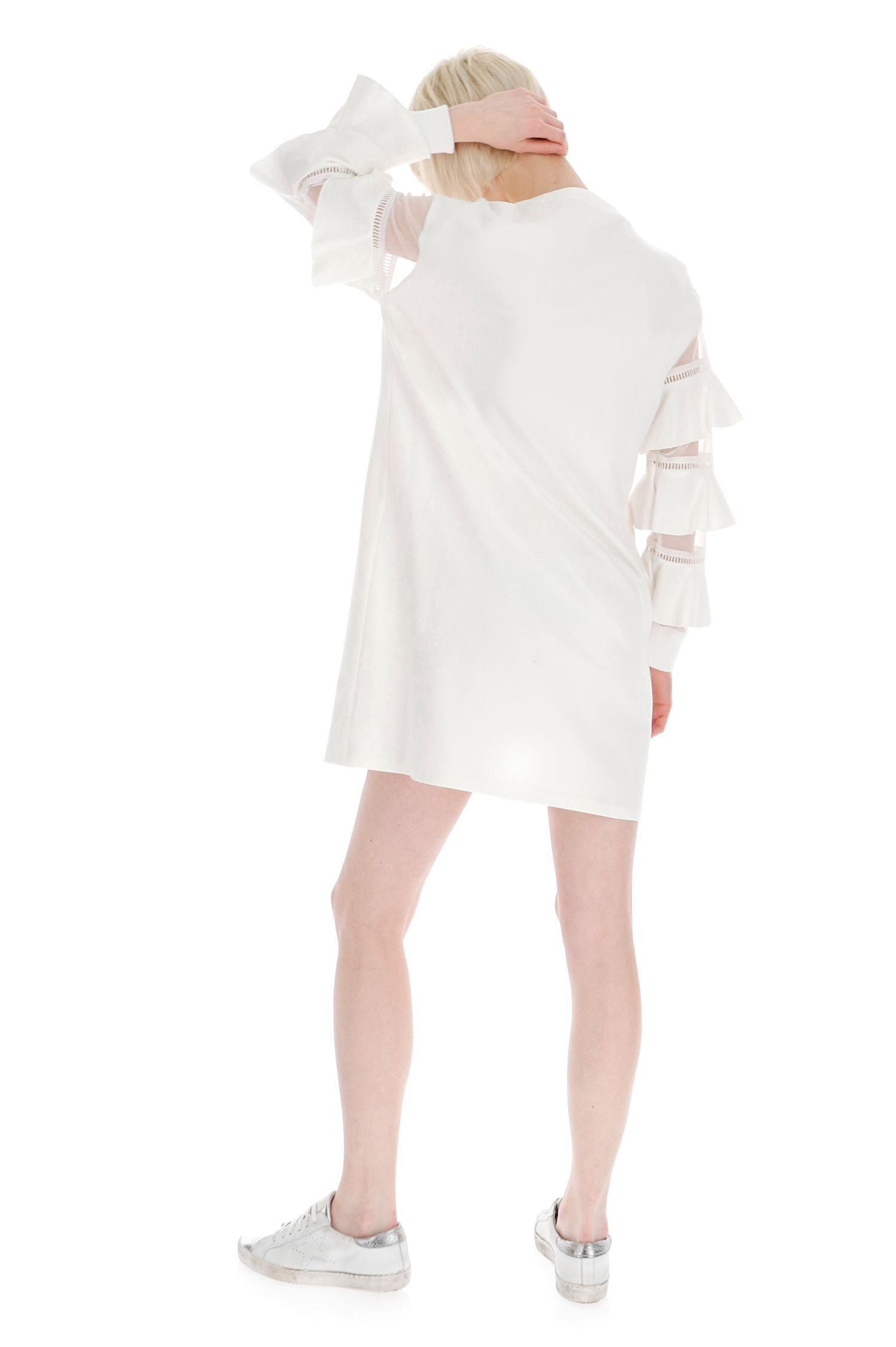 Бавовняна сукня з цікавими рукавами Imperial