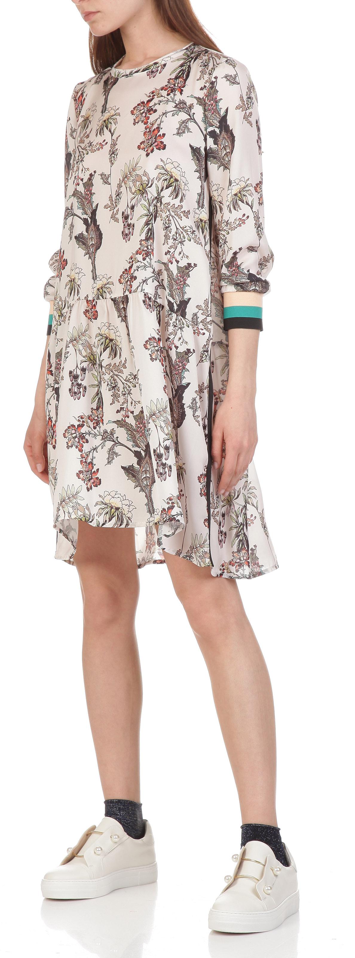 Стильна сукня з бавовняним принтом Imperial