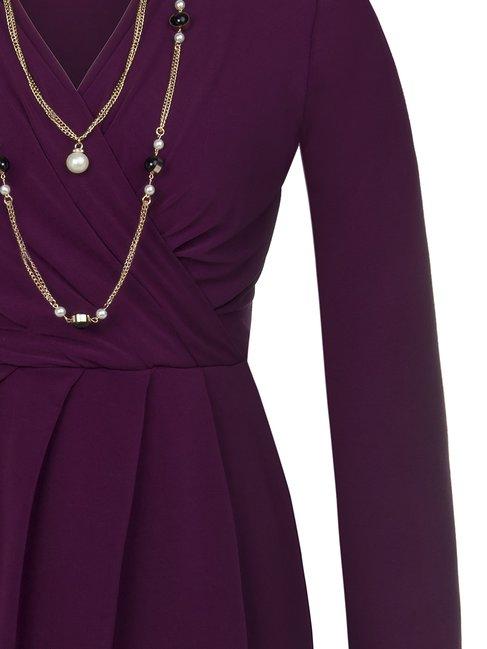 Платье с длиными укавами Rinascimento