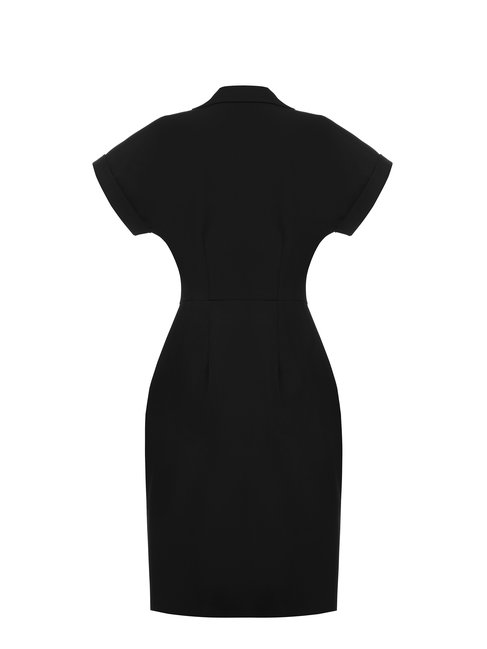 Сукня з короткими рукавами, з гудзиками Rinascimento