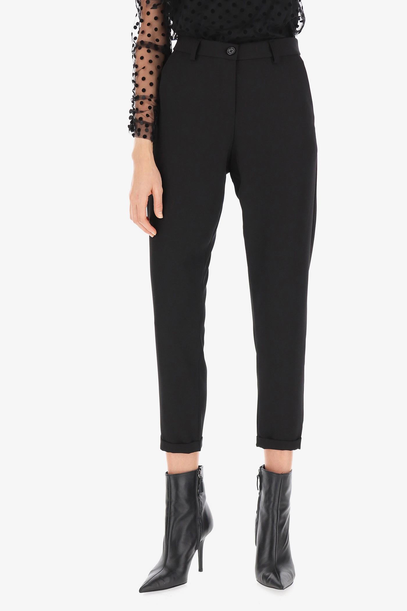 Вискозный брюки с манжетом Imperial
