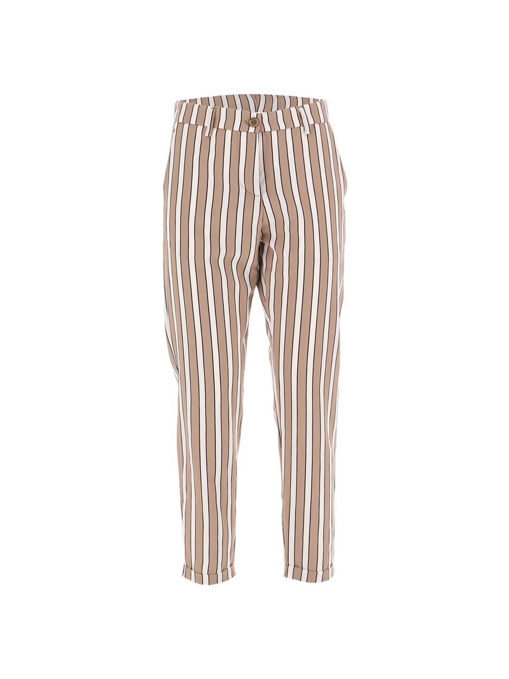Вискозные брюки в полоску  Imperial