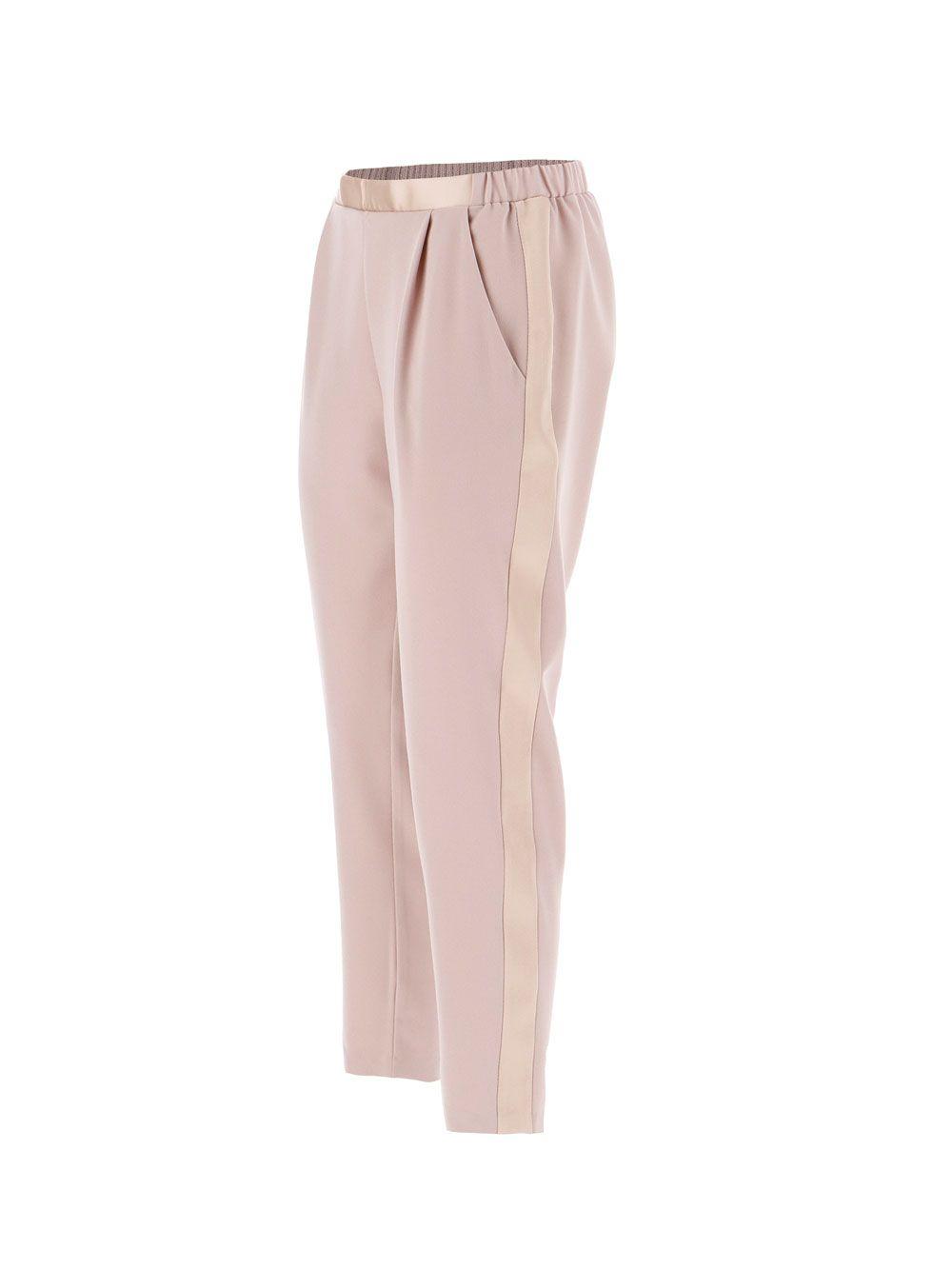 Класичні брюкі з атласнімі лампасами