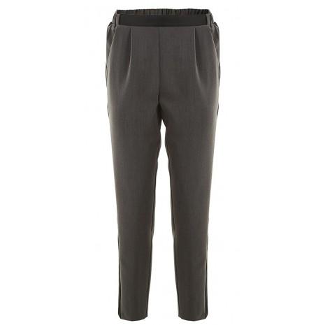 Серые брюки с черными вставками IMPERIAL