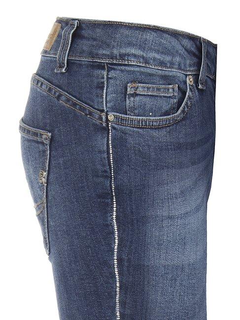 Зауженные джынсы с карманами Rinascimento