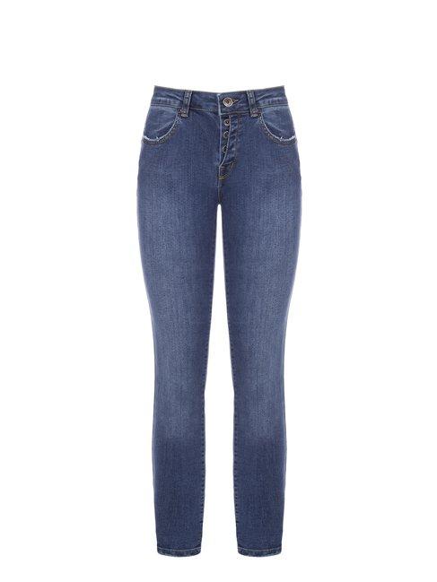 Узкие джинсы итальянского бренда