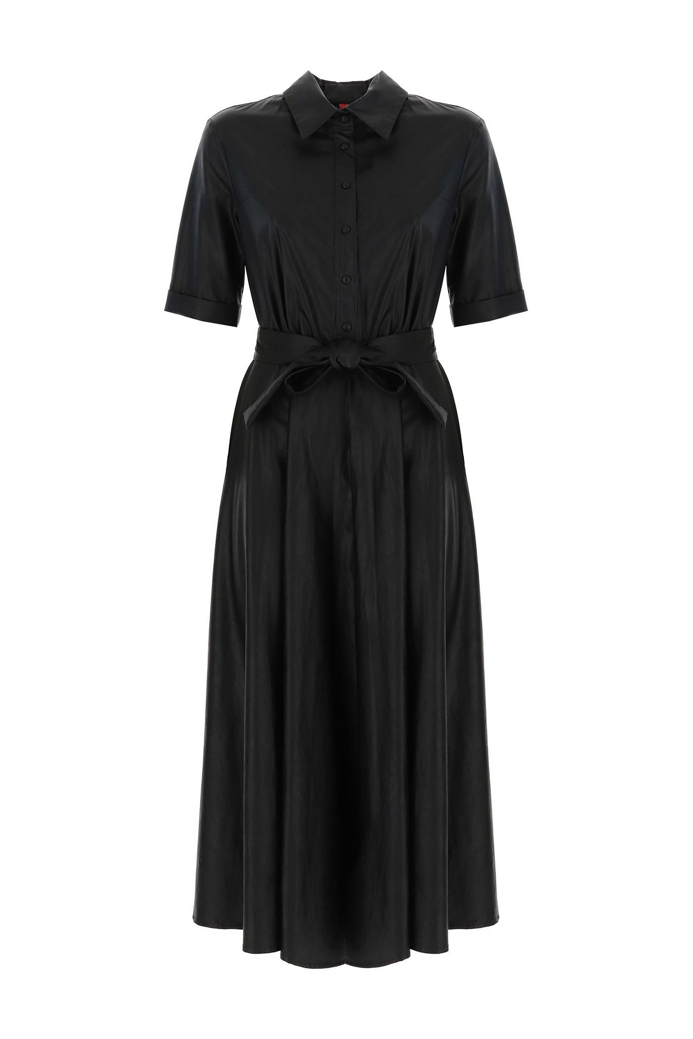 Платье Imperial с эко кожи