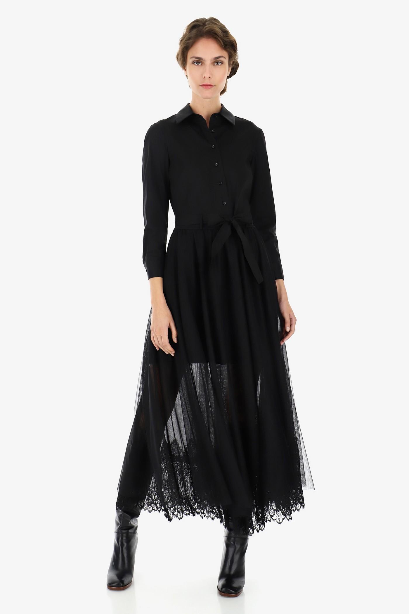 Хлопковое платье с круживом, итальянского бренда Imperial