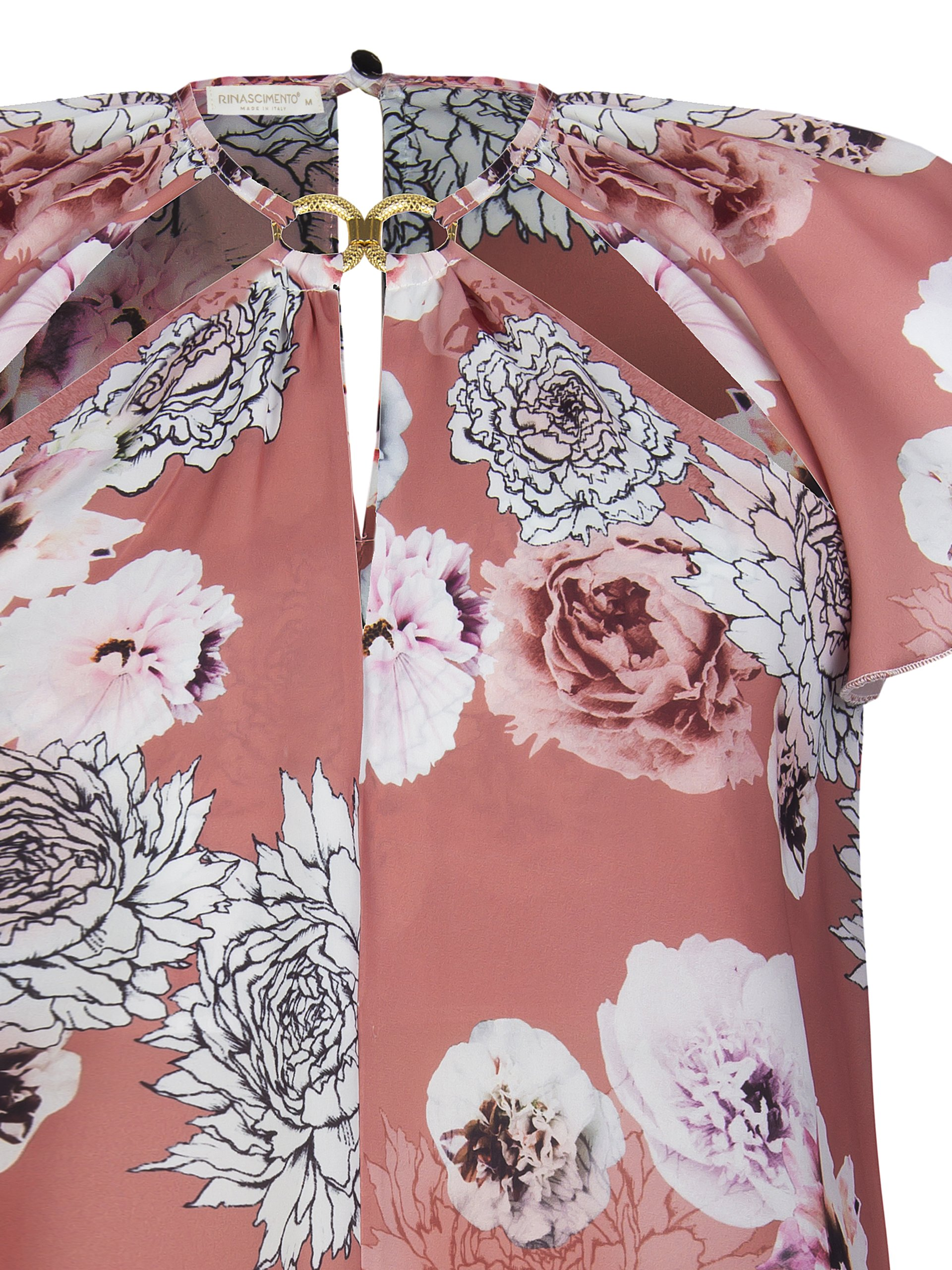 Нежная блуза Rinascimento, с цветочным принтом.