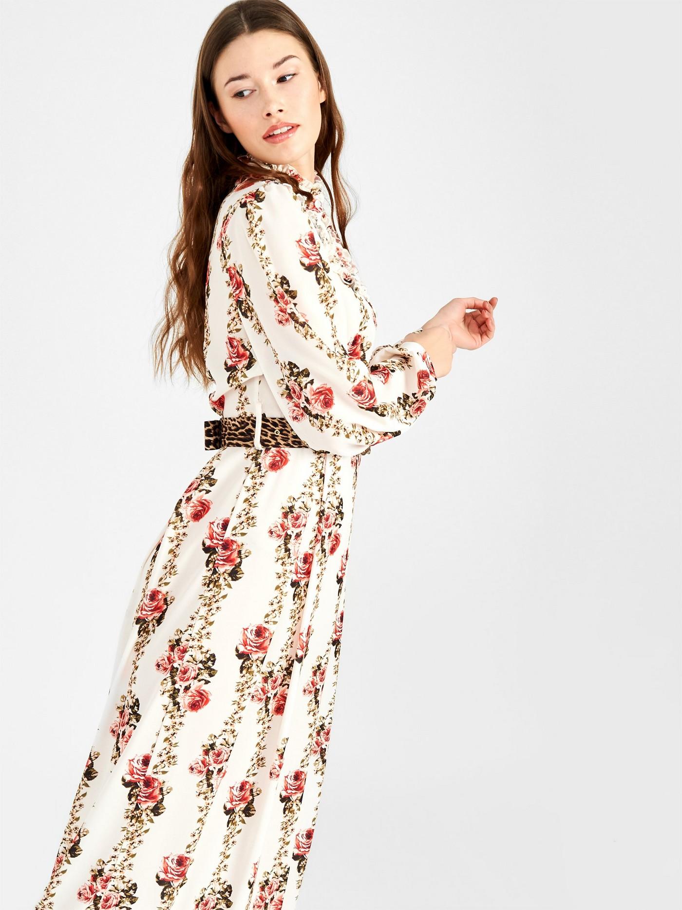 Сукня-сорочка з квітковим прінтом  Rinascimento