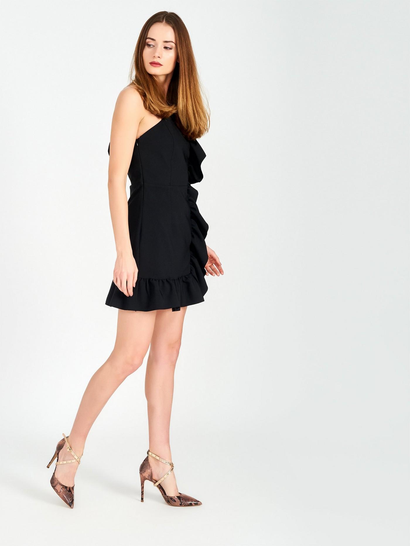 Сукня футляр з рюшом Rinascimento