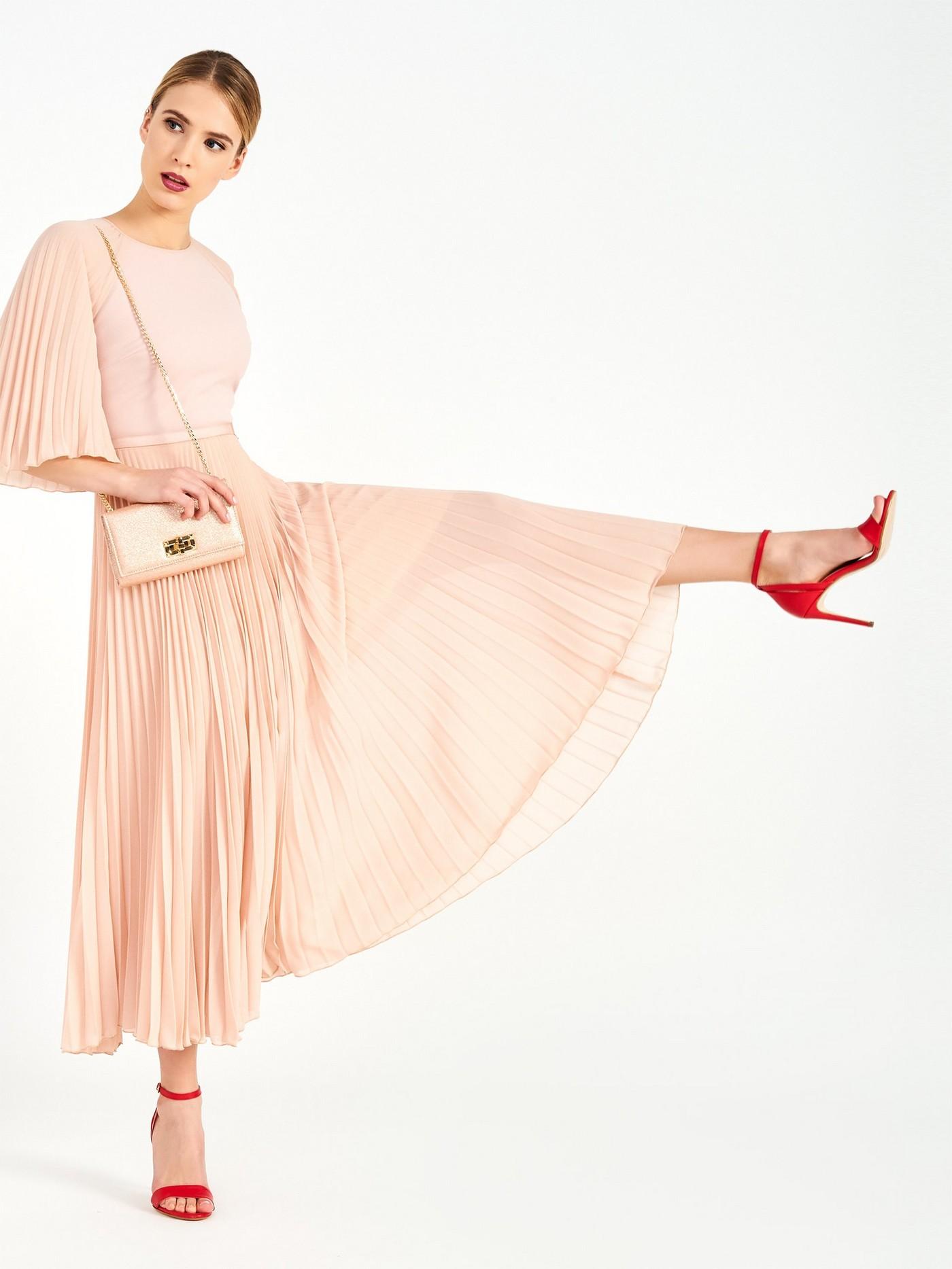 Стильна рожева сукня, італійського бренду  Rinascimento