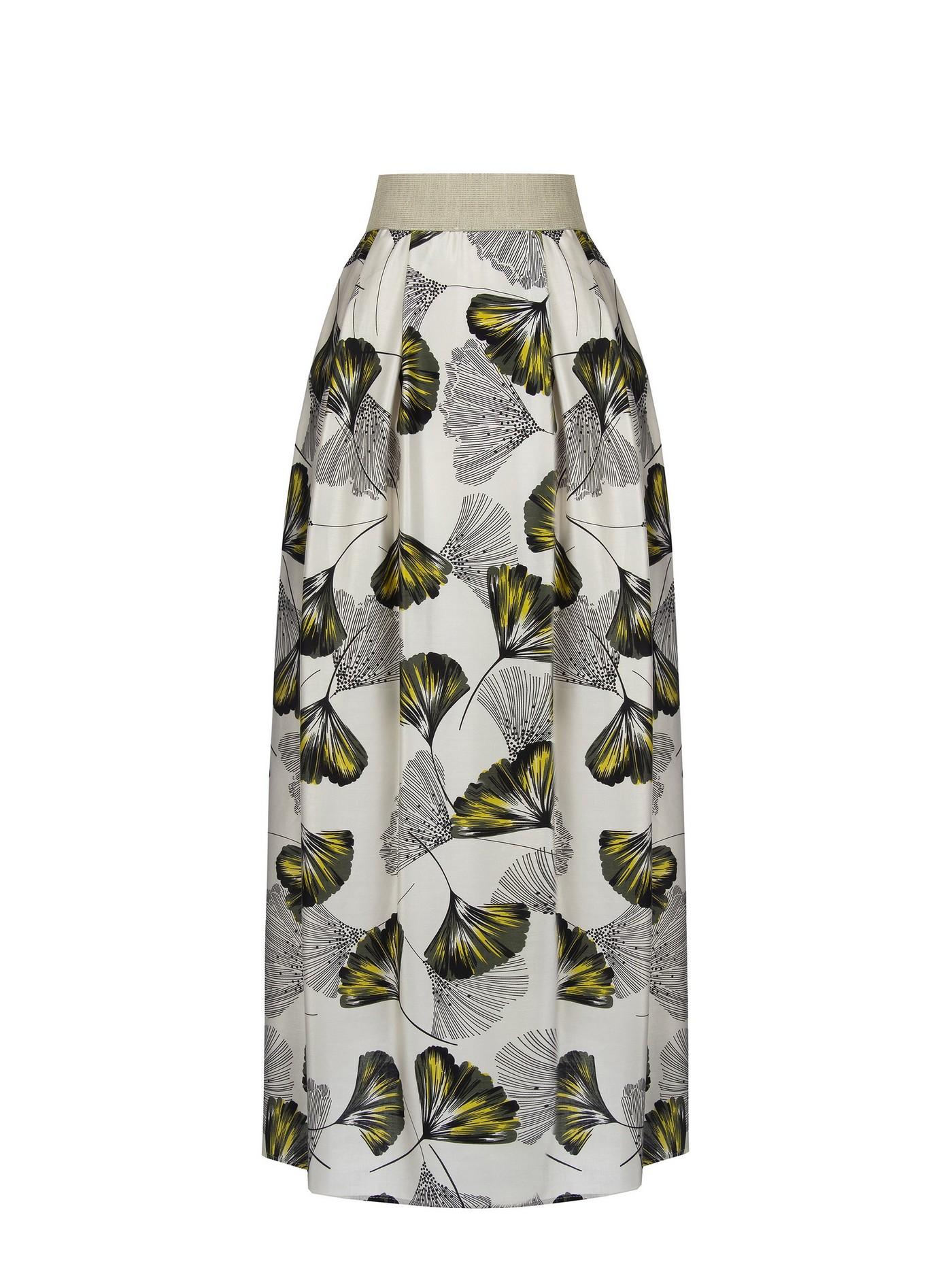 Длинная вискозная юбка Rinascimento