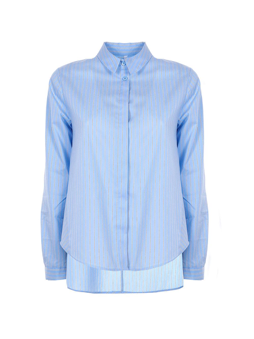 Хлопковая рубашка в полоску Imperial