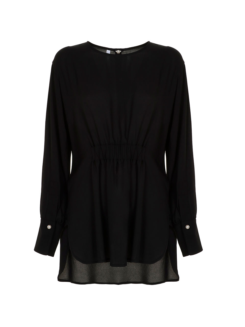 Блуза з гудзиками на рукавах  Imperial