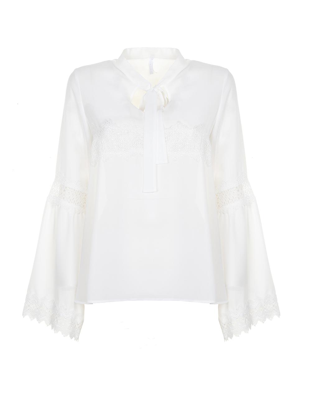 Блуза з мереживом Imperial