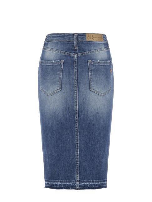 Джинсовая юбка Rinascimento