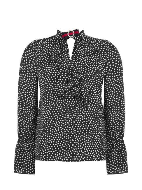 Блуза в горох Rinascimento