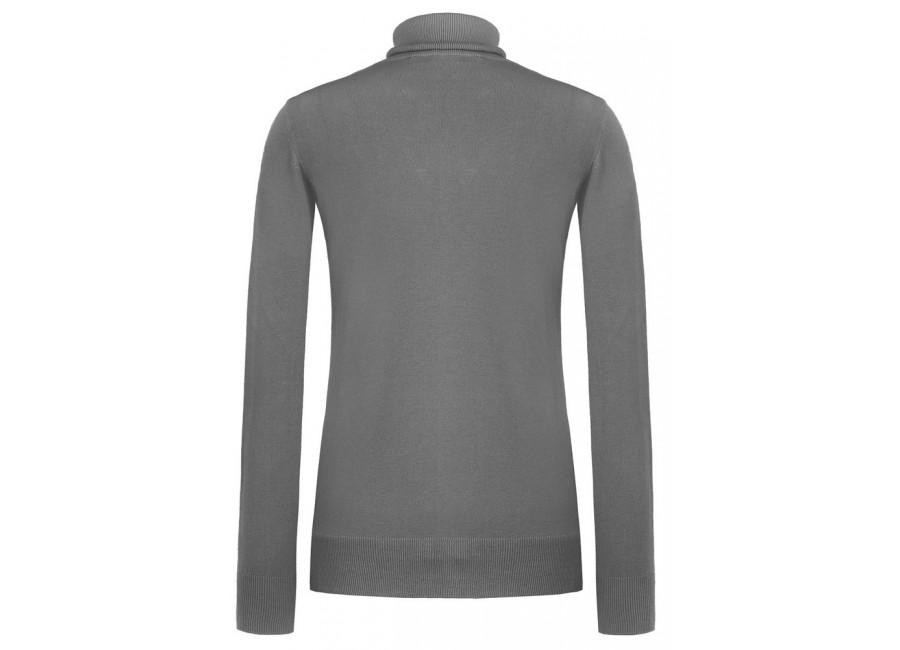 Серый свитер с бусинами RINASCIMENTO