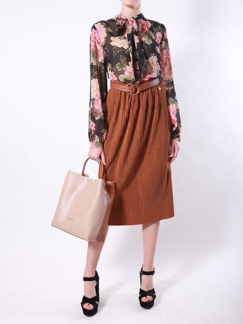 Блуза с квітковим принтом Rinascimento